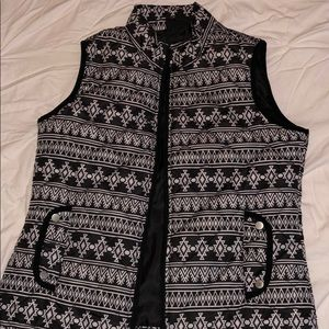 Size medium women's western vest
